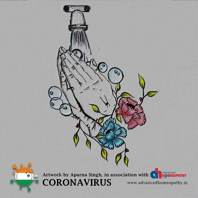 Coronavirus Protection through alcohol-based hand sanitizer
