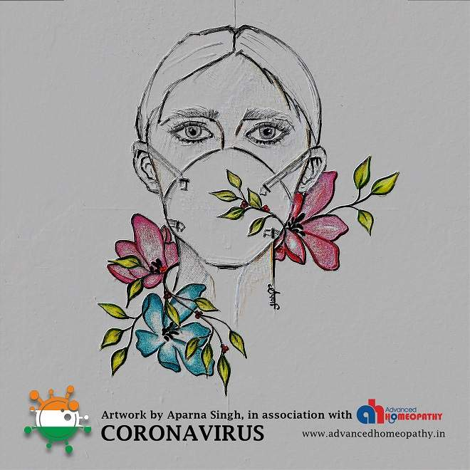 Artwork during stressful times of Coronavirus