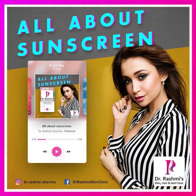 Dr.Rashmi Sharma Podcast on sunscreen