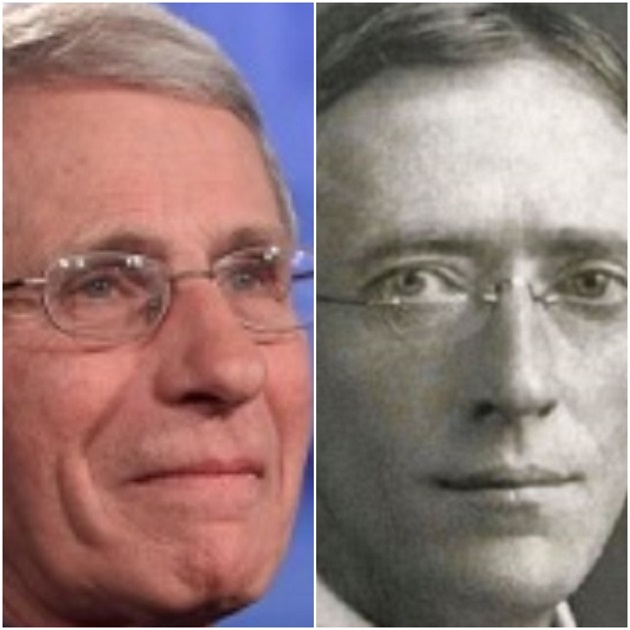 Dr. Anthony Fauci and Dr. Thomas Tuttle